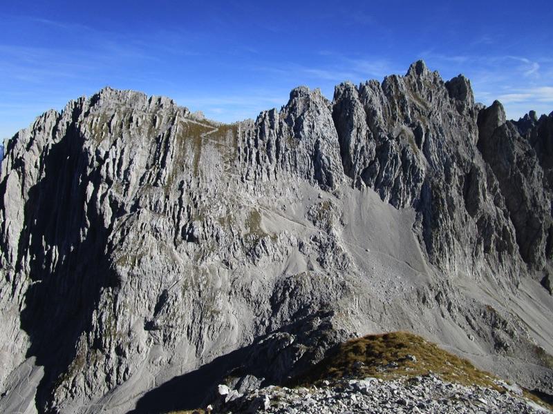 Klettersteig Wilder Kaiser Ellmauer Halt : Ellmauer halt wanderung m u schwere bergtour